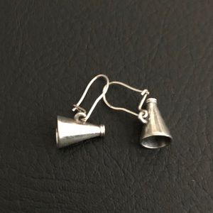 James Avery Vintage Megaphone Earrings, Retired